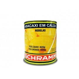ABACAXI RODELAS SCHRAMM  400 GR - CX 12