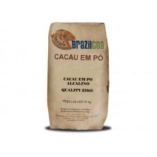 CACAU EM PO ALCALINO QUALITY BRASILCOA 25 KG -  UN