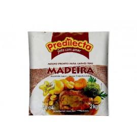 MOLHO MADEIRA PREDILECTA 2 KG  -  CX 08