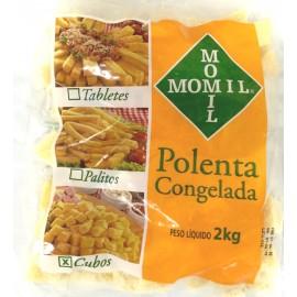 POLENTA EM CUBOS MOMIL 2KG - CX 6