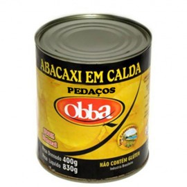 ABACAXI RODELAS QOBBA  400 GR. - CX 12